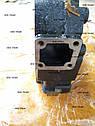 Головка блока цилиндров двигателя Mitsubishi S4S, фото 4