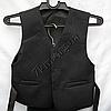 Школьный костюм форма 3-ка для мальчиков садик Черный, фото 5
