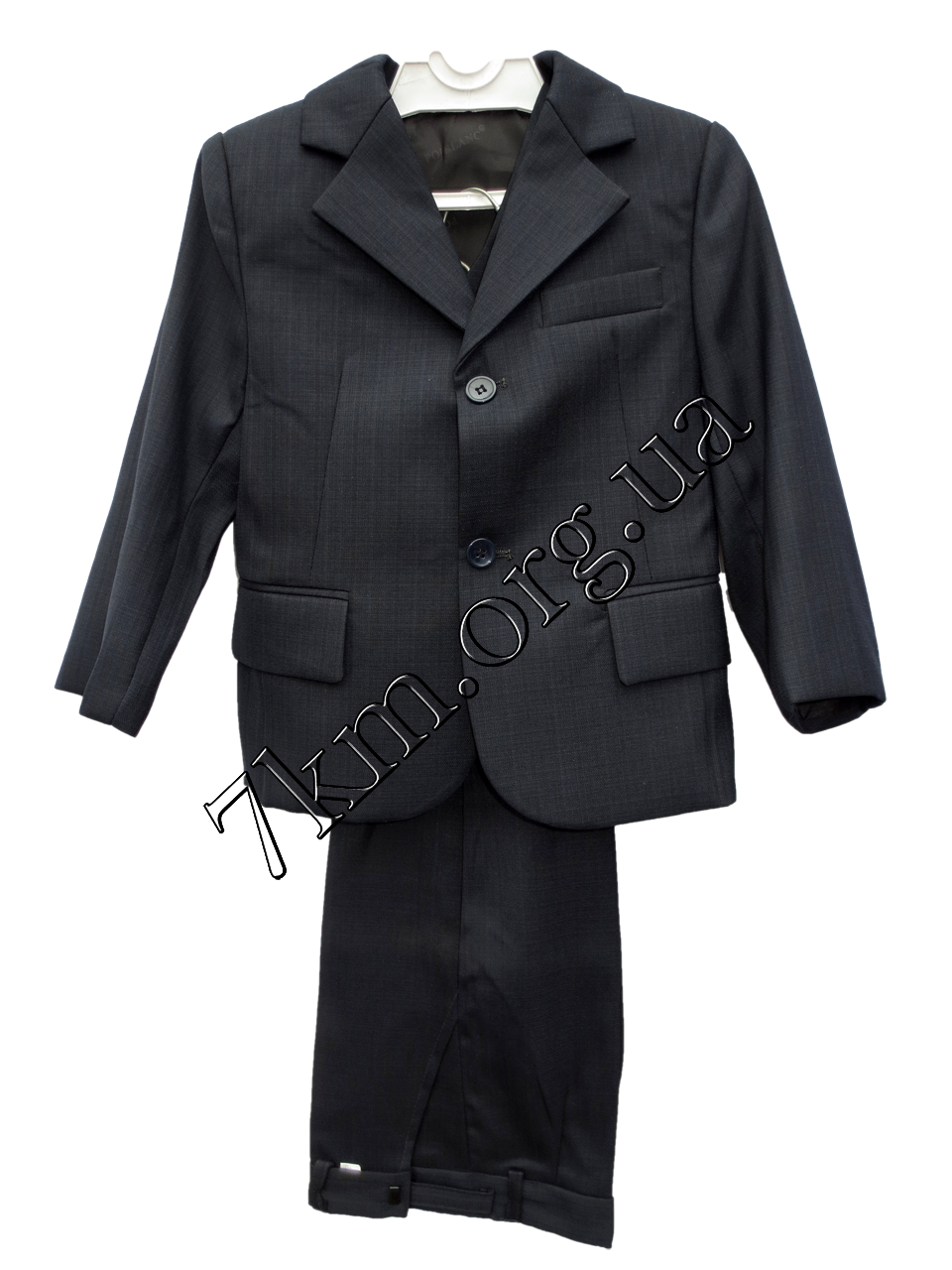 Школьный костюм форма 3-ка для мальчиков садик Синий