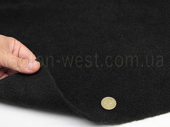 Карпет автомобильный Lux черный, толщина 4.0 мм, шир. 1.38м, плотность 400 г/м2