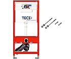 Установочный модуль TECE base 3 в 1 без клавиши + унитаз KERAMAG Renova Plan Rimfree, фото 4