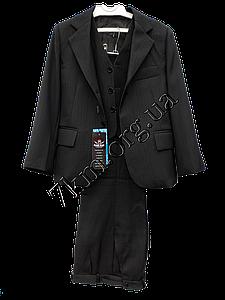 Школьный костюм форма 3-ка для мальчиков 50-64 р.р Черный LB 0979