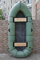 Лодка резиновая надувная двухместная Дельфин-Гигант (гумовий надувний човен двомісний Дельфін-Гігант)