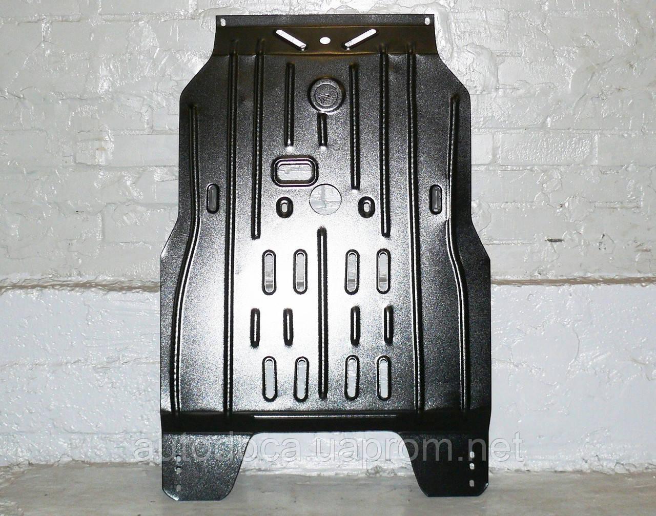 Защита картера двигателя и кпп Mitsubishi Pajero Wagon 1999-