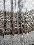 Тюль с ажурным ресунком (основа фатин) Высота 3 м, фото 4