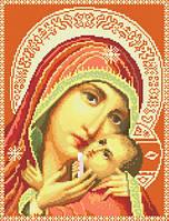 Схема картин для вышивки крестиком Божья Матерь Касперовская ИКан 3012