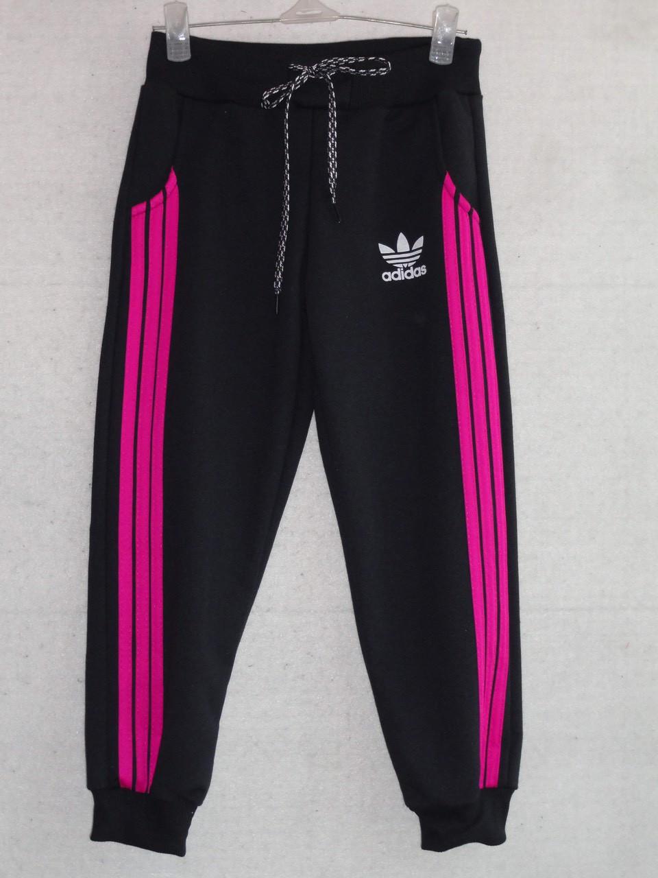 Спортивные штаны для девочки Adidas р. 4-8 лет