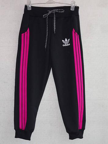 Спортивные штаны для девочки Adidas р. 4-8 лет, фото 2