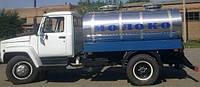 Молоковоз на базе ГАЗон 33098