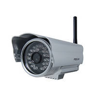 Профессиональная наружная беспроводная Wi Fi  IP видеокамера (модель FOSCAM FI 8904W)