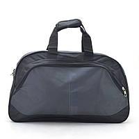 Дорожная сумка черная с серым спортиваная Sports 153706, фото 1