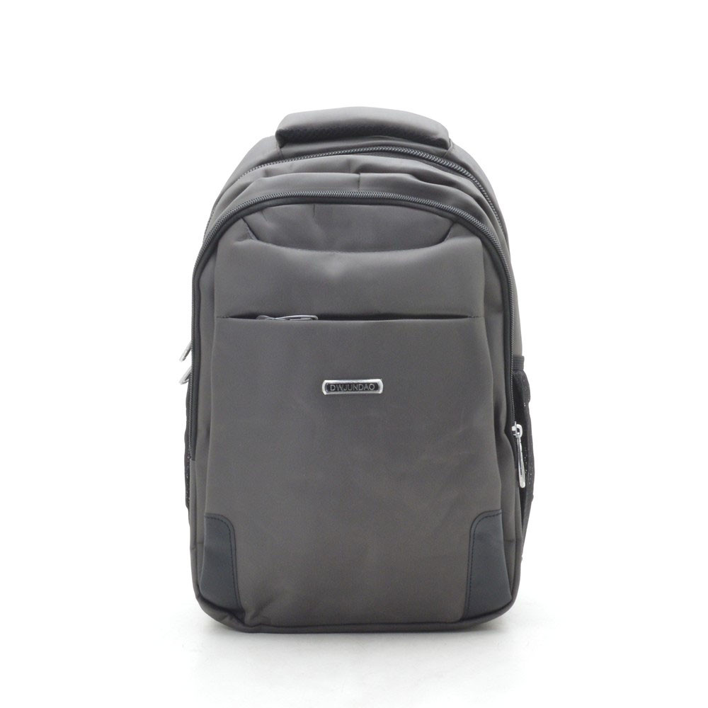 Рюкзак городской серый Dwjundao с отделением для ноутбука 181104, фото 1