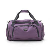 Дорожная сумка ⭐ 1821 фиолетовая, фото 1