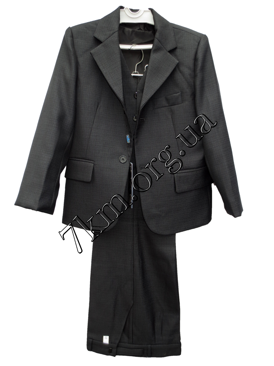 Школьный костюм форма 3-ка для мальчиков 50-64 р.р Серый