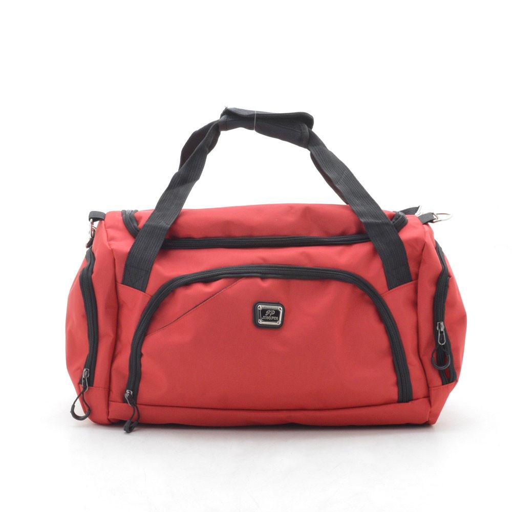 Дорожная сумка спортивная красная 181252