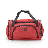 Дорожная сумка спортивная красная 181252, фото 1