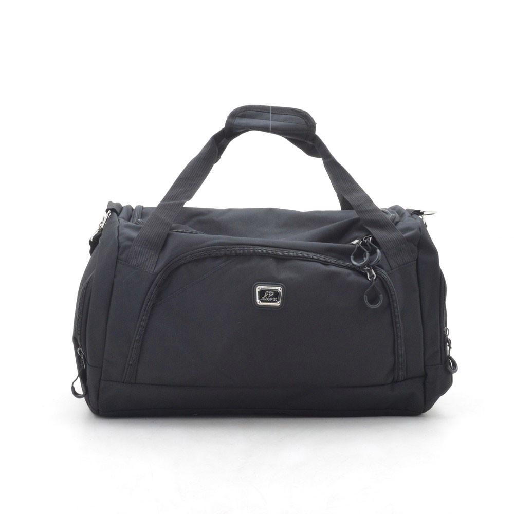 Дорожная сумка спортивная черная 181253