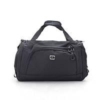 Дорожная сумка спортивная черная 181253, фото 1