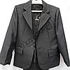 Шкільний костюм форма 3-ка для хлопчиків 50-64 р. р Сірий, фото 2