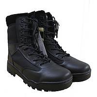 Ботинки, берцы с подкладкой Thinsulate MilTec TACTICAL STIEFEL Black 12821000