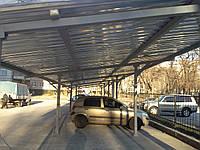 Стоянка для автотранспорта из профлиста, фото 1