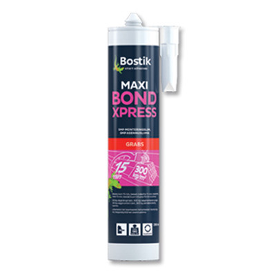 Клей пенопласт на пенопласт монтажный Bostik Maxi Bond XPress