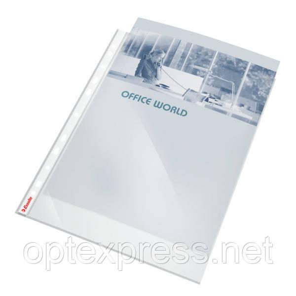 Файлы глянцевые A4 Esselte, 40 мик., 100 шт.