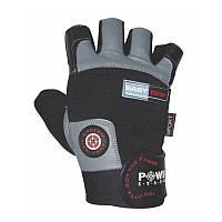 Перчатки для фитнеса и тяжелой атлетики Power System Easy Grip PS-2670 M Black/Grey, фото 1