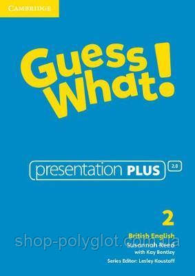 Guess What! Level 2 Presentation Plus DVD-ROM