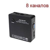Миниатюрный IP видеорегистратор FULL HD 1080P (мод. KENVS 6200 8CH)