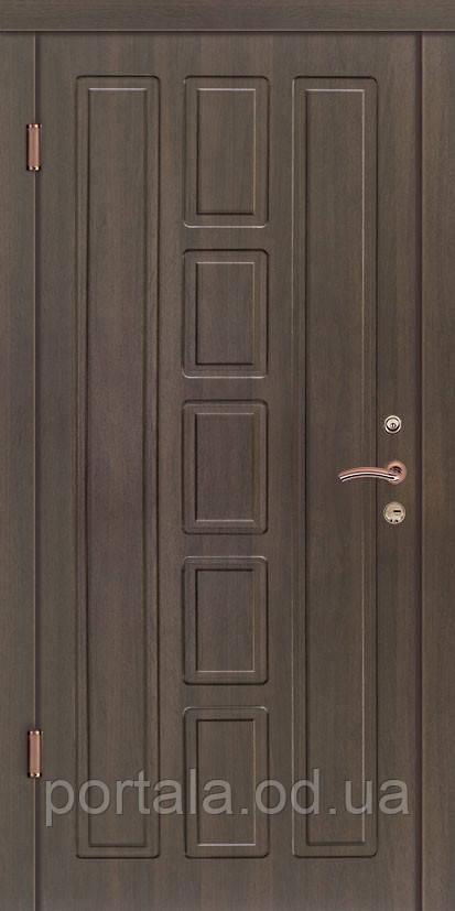 """Вхідні двері """"Портала"""" (серія Люкс) ― модель Квадро"""
