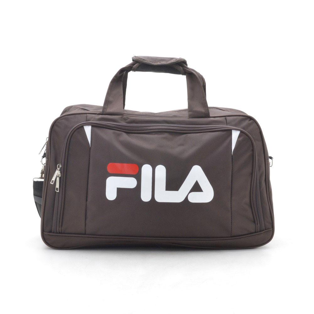 Дорожная сумка спортивная коричневая 181243