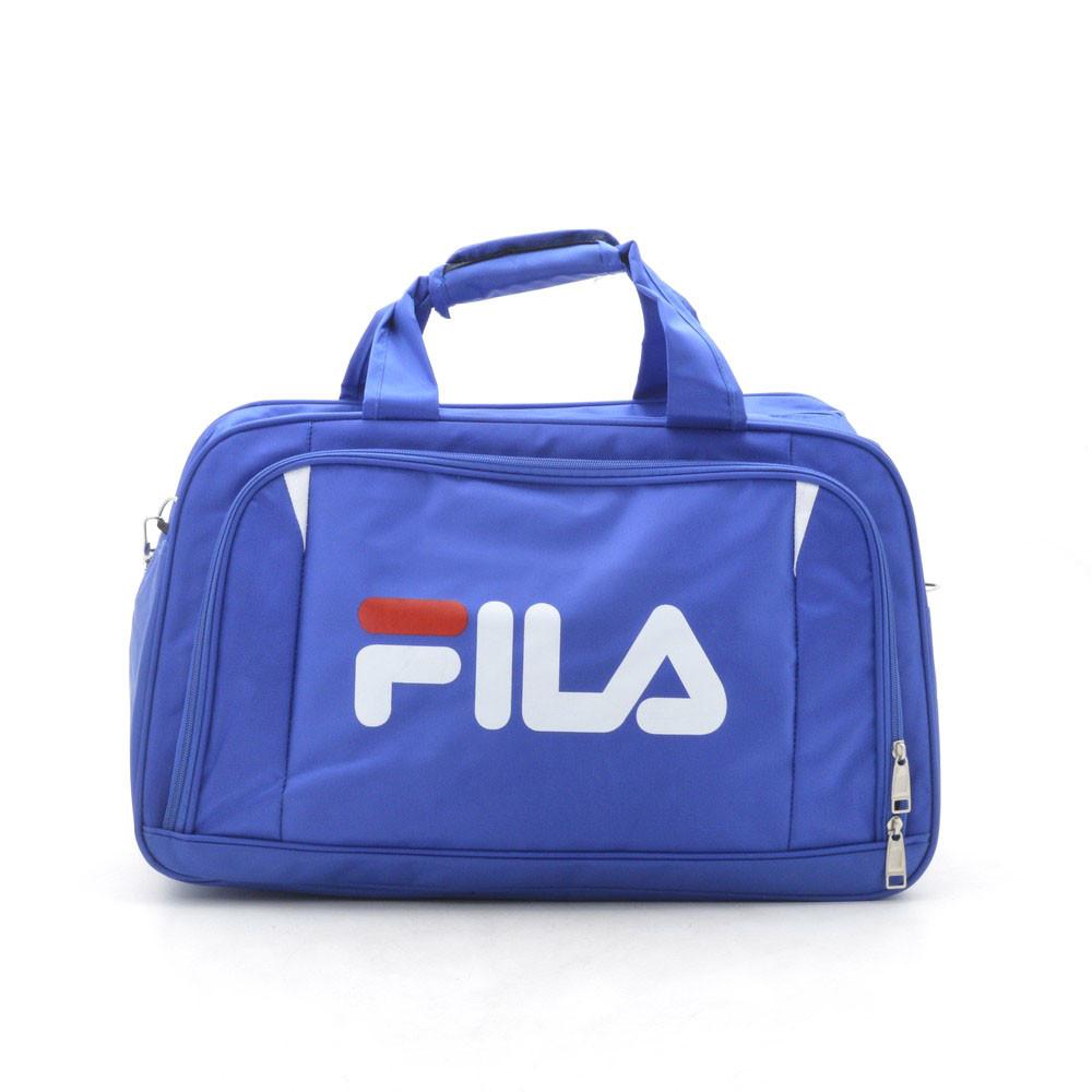 Дорожная сумка спортивная синяя 181246