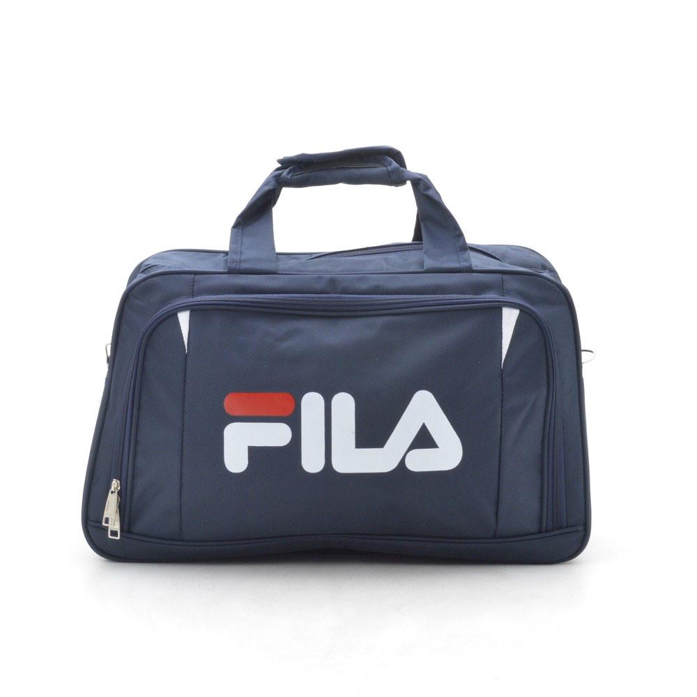 Дорожная сумка спортивная темно синяя 181247