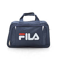 Дорожная сумка спортивная темно синяя 181247, фото 1