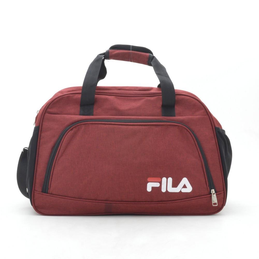 Дорожная сумка спортивная красная FILA 181268