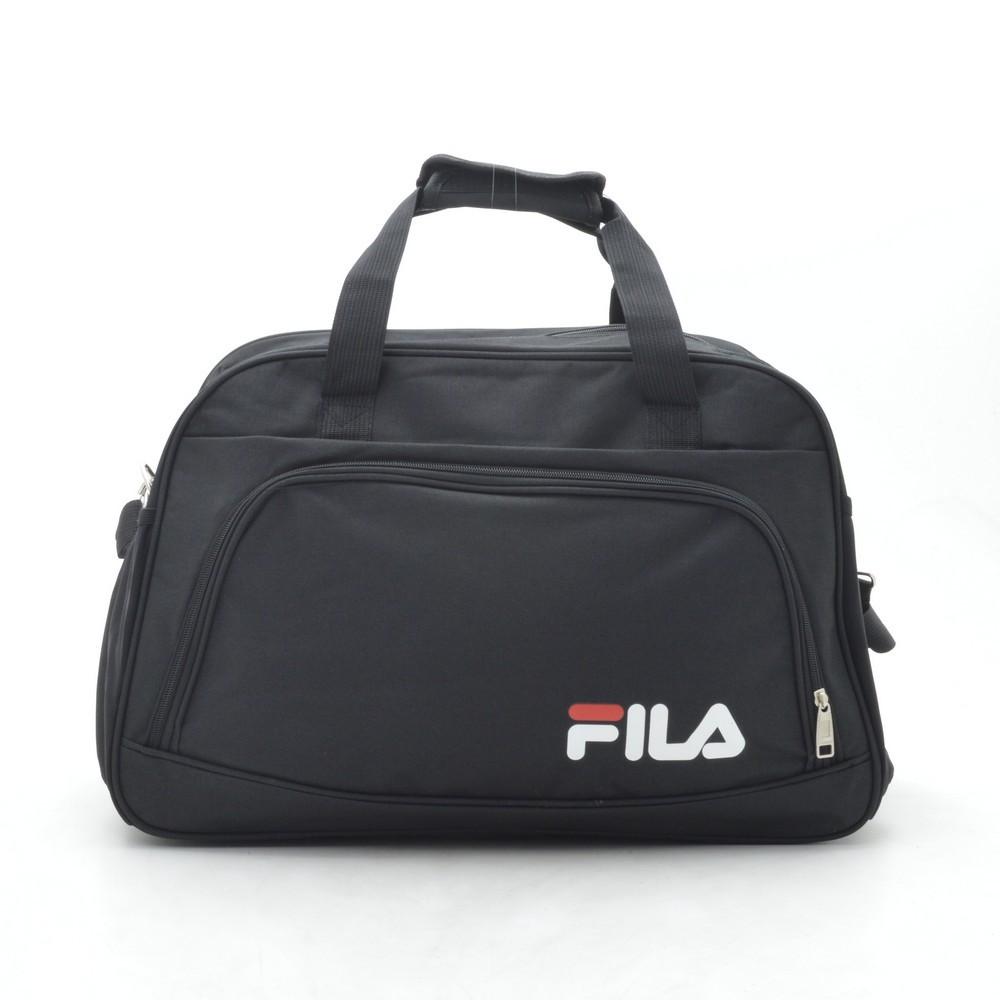 Дорожная сумка спортивная черная FILA 181269