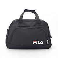 Дорожная сумка спортивная черная FILA 181269, фото 1