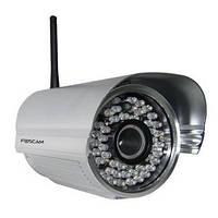 Профессиональная наружная беспроводная сетевая IP видеокамера (модель FOSCAM FI8905W)