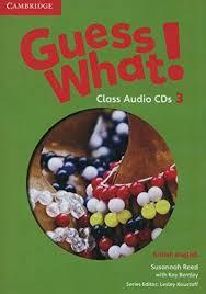 Guess What! Level 3 Class Audio CDs (2)