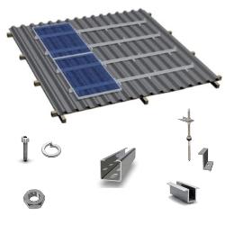 Комплекты креплений Spline от 1 Солнечной панели - Под заказ