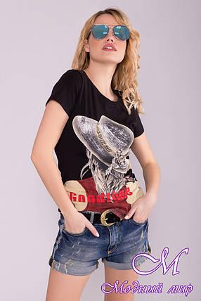 Женские джинсовые шорты (р. 27, 28, 29) арт. 7038 - 42200, фото 2
