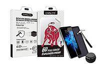 """Силиконовая пленка (броня) для iPhone 7 (4.7"""") Caisles 6D Black"""