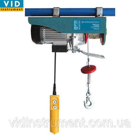 Подъемник электрический Kraissmann SH 125/250 (высота подъема 10м/20м), фото 2