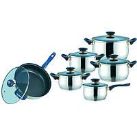 Набор посуды (Набор кастрюль) 12 предметов Maestro MR 2014