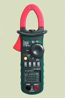 Токоизмерительные клещи MS2008B Mastech ( ACA, DCV, ACV, R, C, F,тест диодов, непрерывности цепи, скважность, 26 мм)