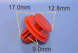 Клипса крепления арок, внутренней обшивки Nissan Murano, Rogue / Infiniti ОЕМ: 63848-AQ100, фото 2
