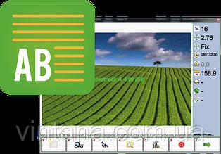 Программное обеспечение А-Б прямой режим для GPS навигатора параллельного вождения