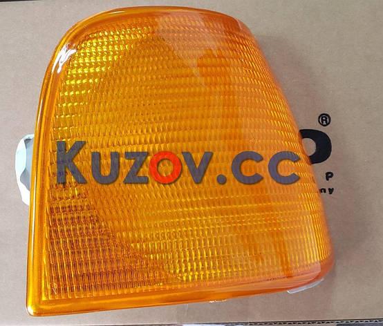 Указатель поворота Audi 100 C3 (82-91) левый, желтый (Depo) 1315201E 443953049E, фото 2