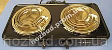 Плита електрична настільна Елна 200Н (2-конфорки, 2кВт)